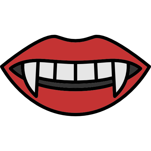 Scared mouth png. Vampires images free download