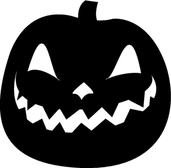 Scarey clip design. Spooky png library