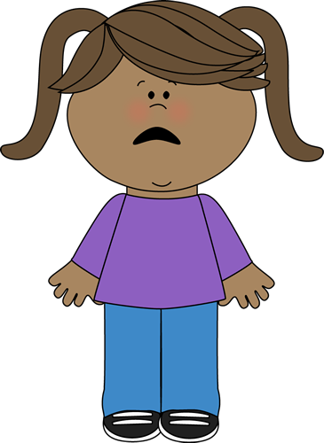 Scared clipart. Emotions clip art images