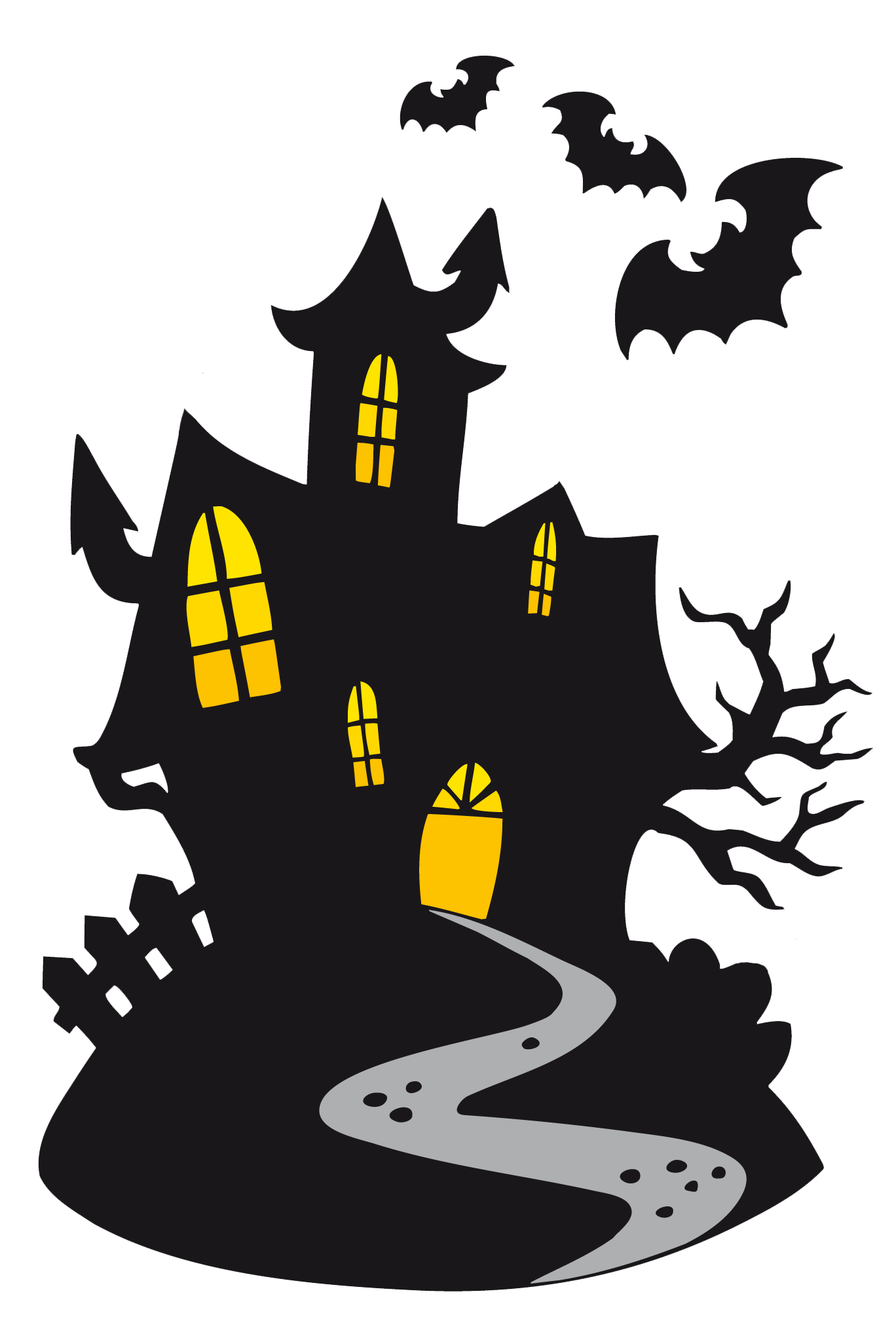 Scarey clipart transparent. Haunted castle gallery yopriceville