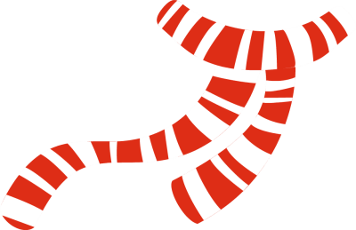 Scarf clipart neck scarf. Black and white striped