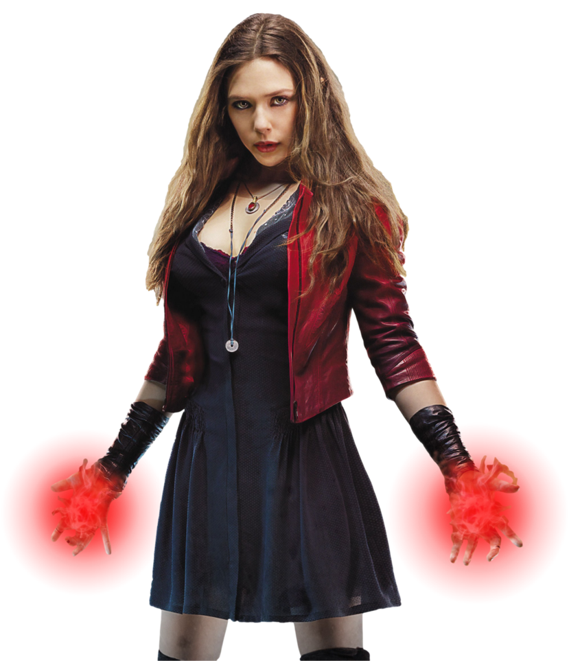 Scarlet witch avengers 2 png. Transparent background by camo