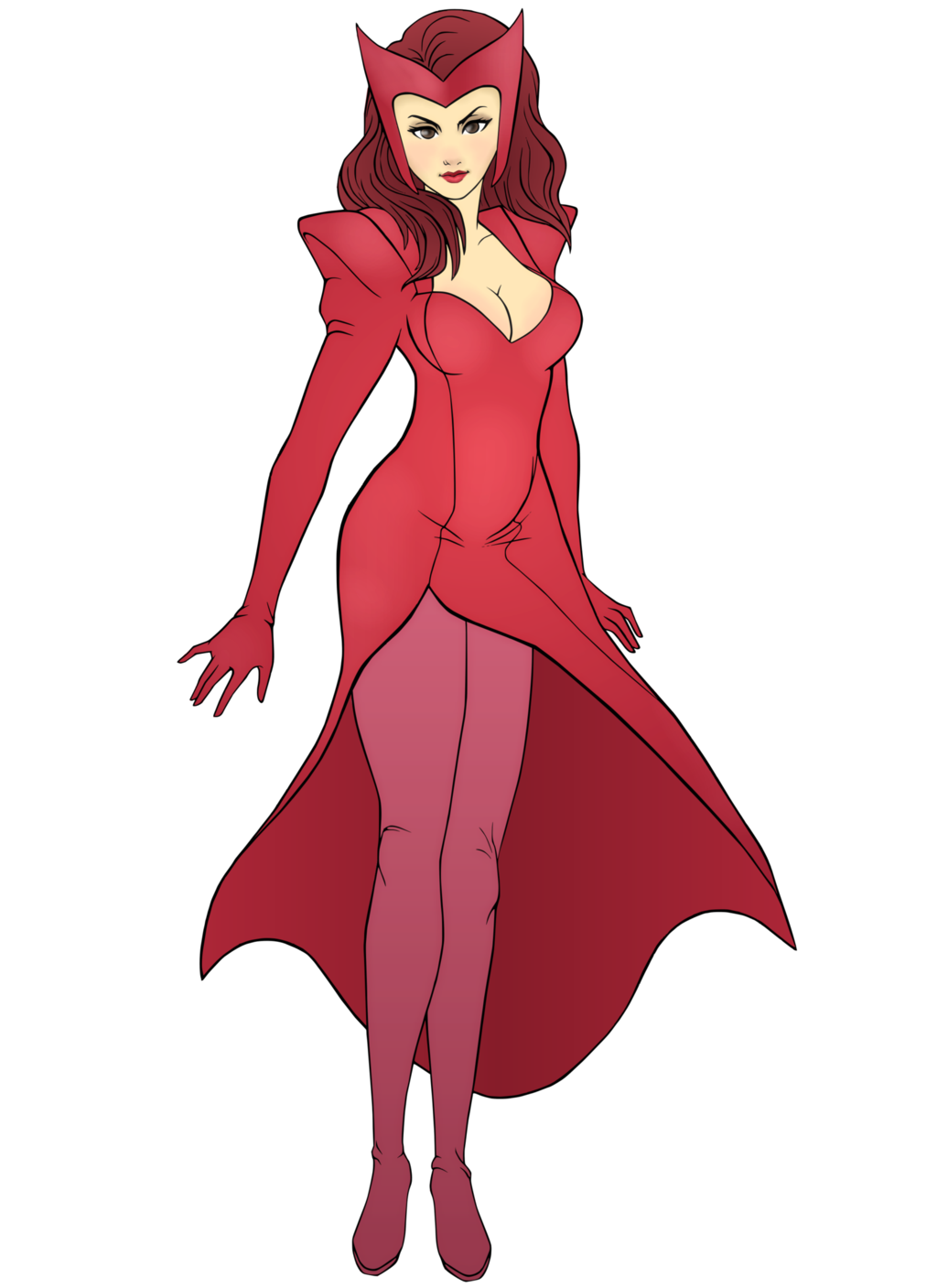 Scarlet witch symbol png. Collection of clipart