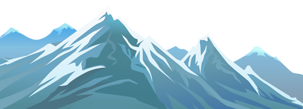 Scary clipart mountain. Graphic mountains images gallery