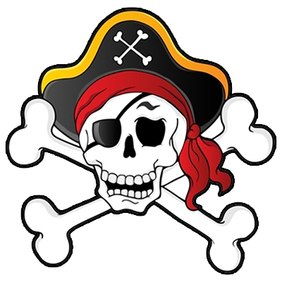 Scary clipart pirate. Png images ship skull