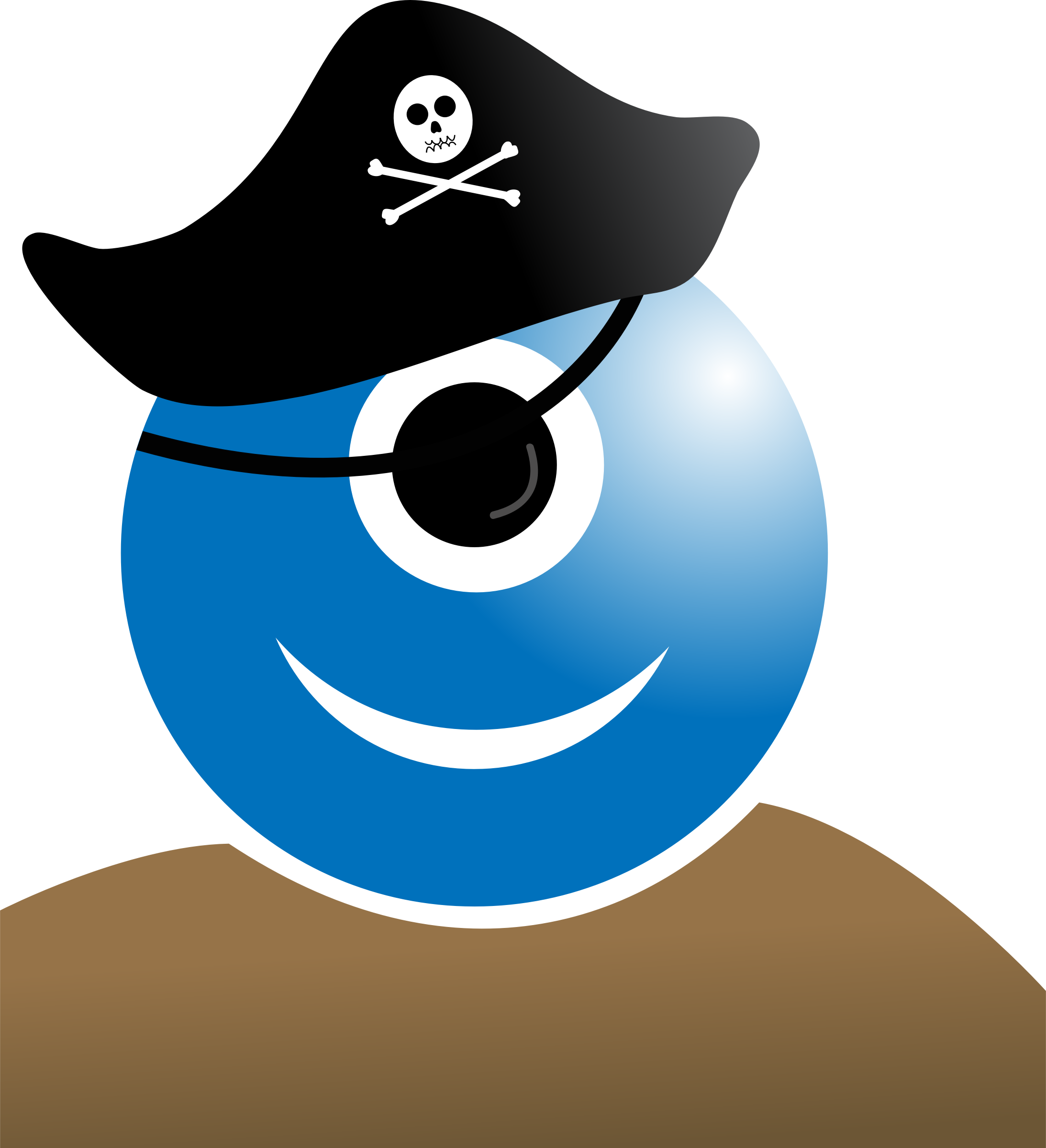 Scary clipart pirate. Alien big image png