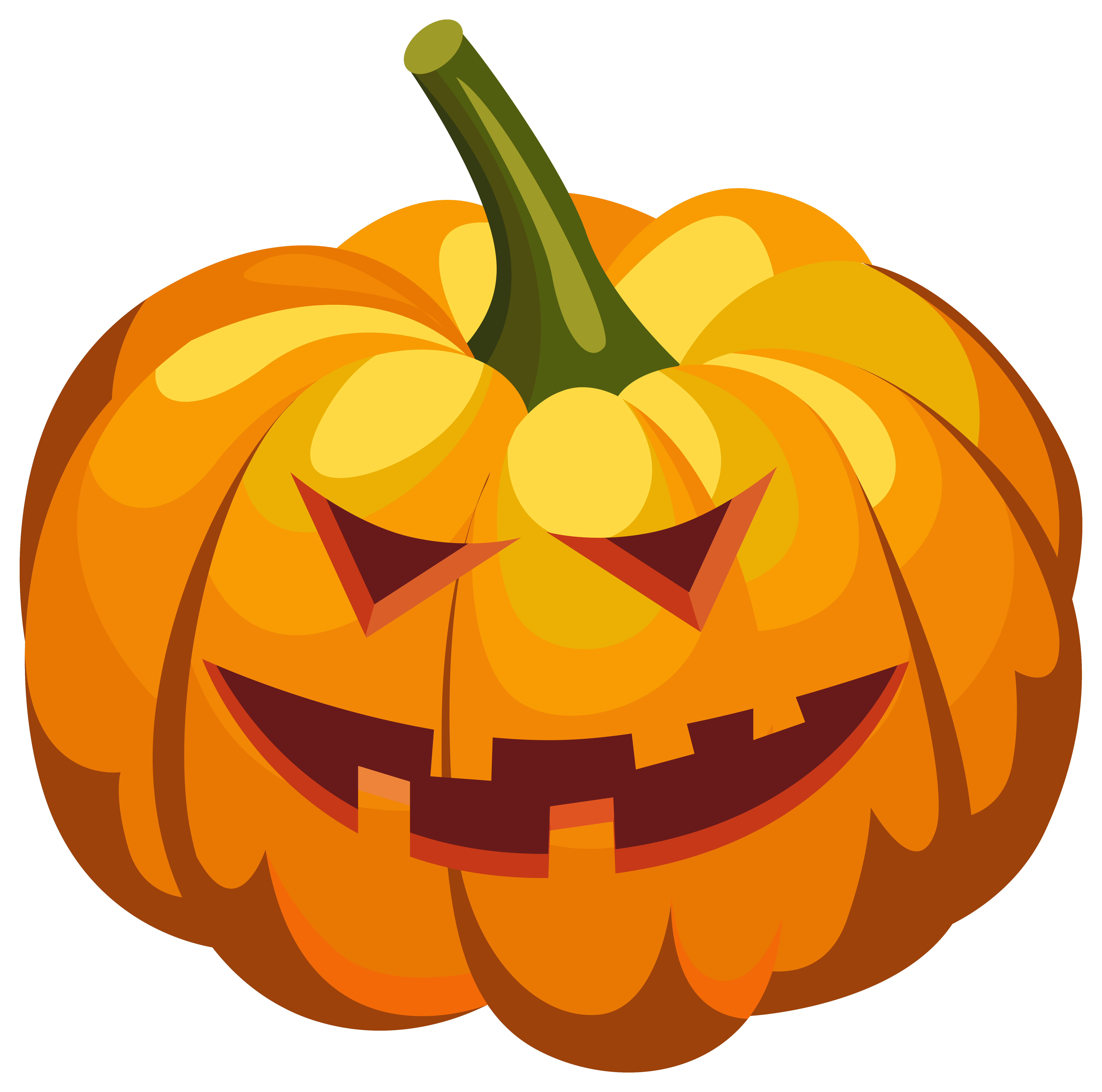 Scary clipart pumpkin. Lantern png image gallery