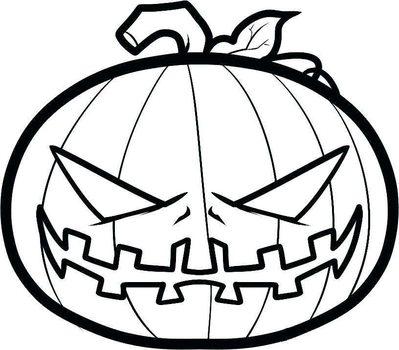 Coloring pages pumpkins kids. Scary clipart scary pumpkin patch clip royalty free
