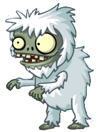 Scary clipart yeti. Image imp pvz png
