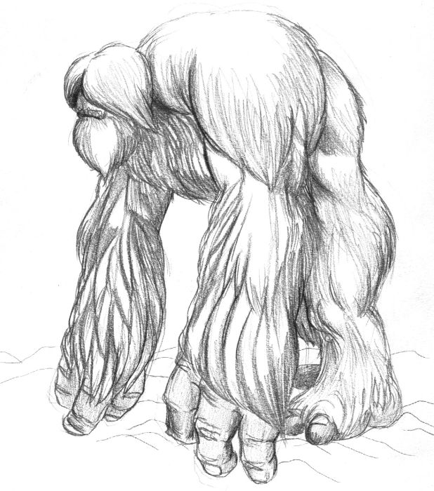 Scary clipart yeti. Furry non commusnist the