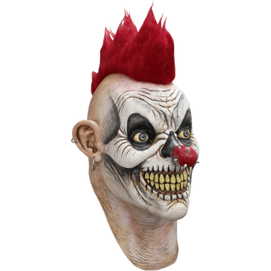 Scary clown face png. Punky punk rocker circus