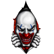 Scary png. Clown images in collection