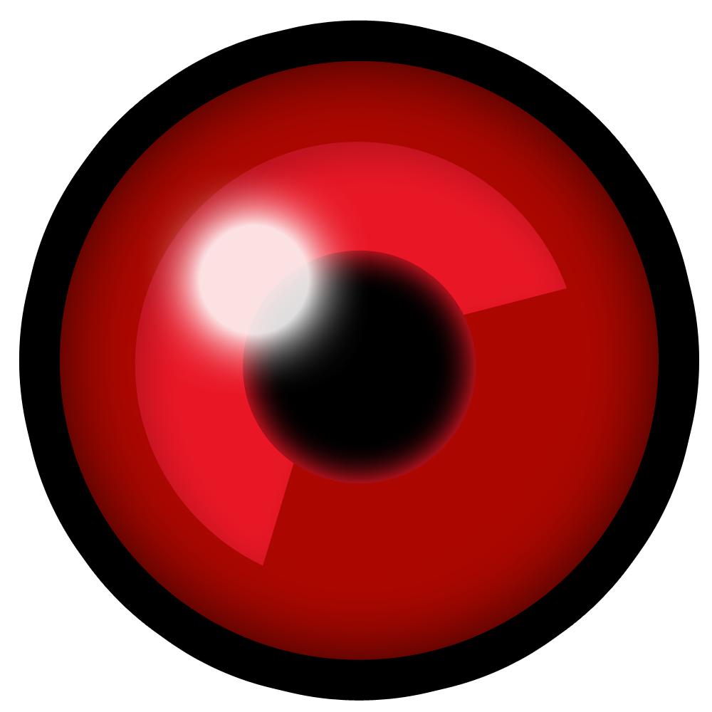 Red eyeball png. Image reaverboteye v hd