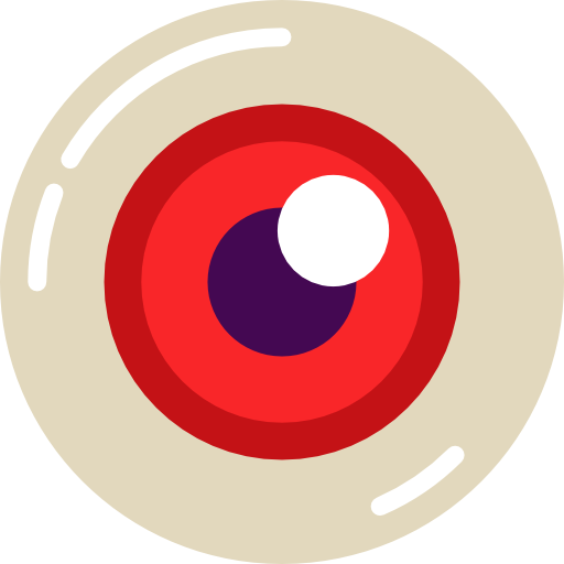 Scary eyes png. Eyeball icon svg