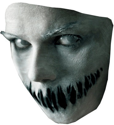 Scary png. Face halloween image