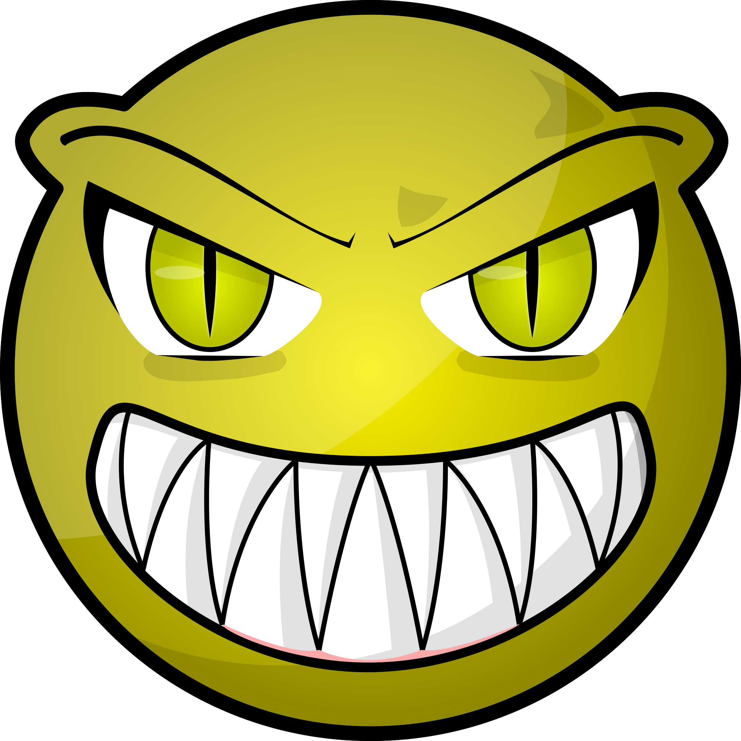 Scary face png. Icons free and downloads