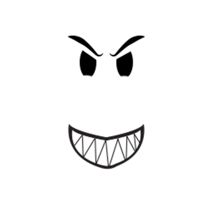 Scary face png. Roblox scanner on twitter