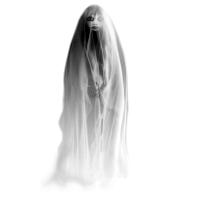 Ghost clip creepy. Cute art scary ghosts