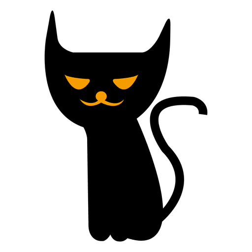 Halloween png spooky. Cat transparent svg vector