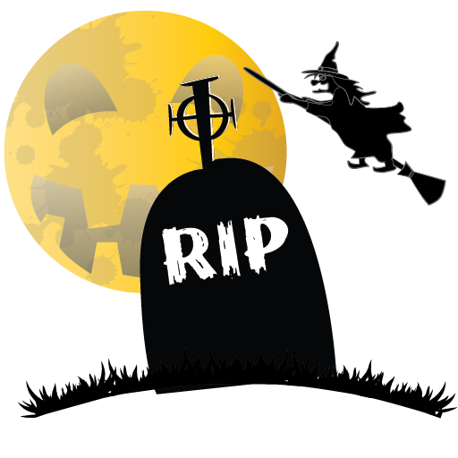 Scary halloween png images. By david robertson grave