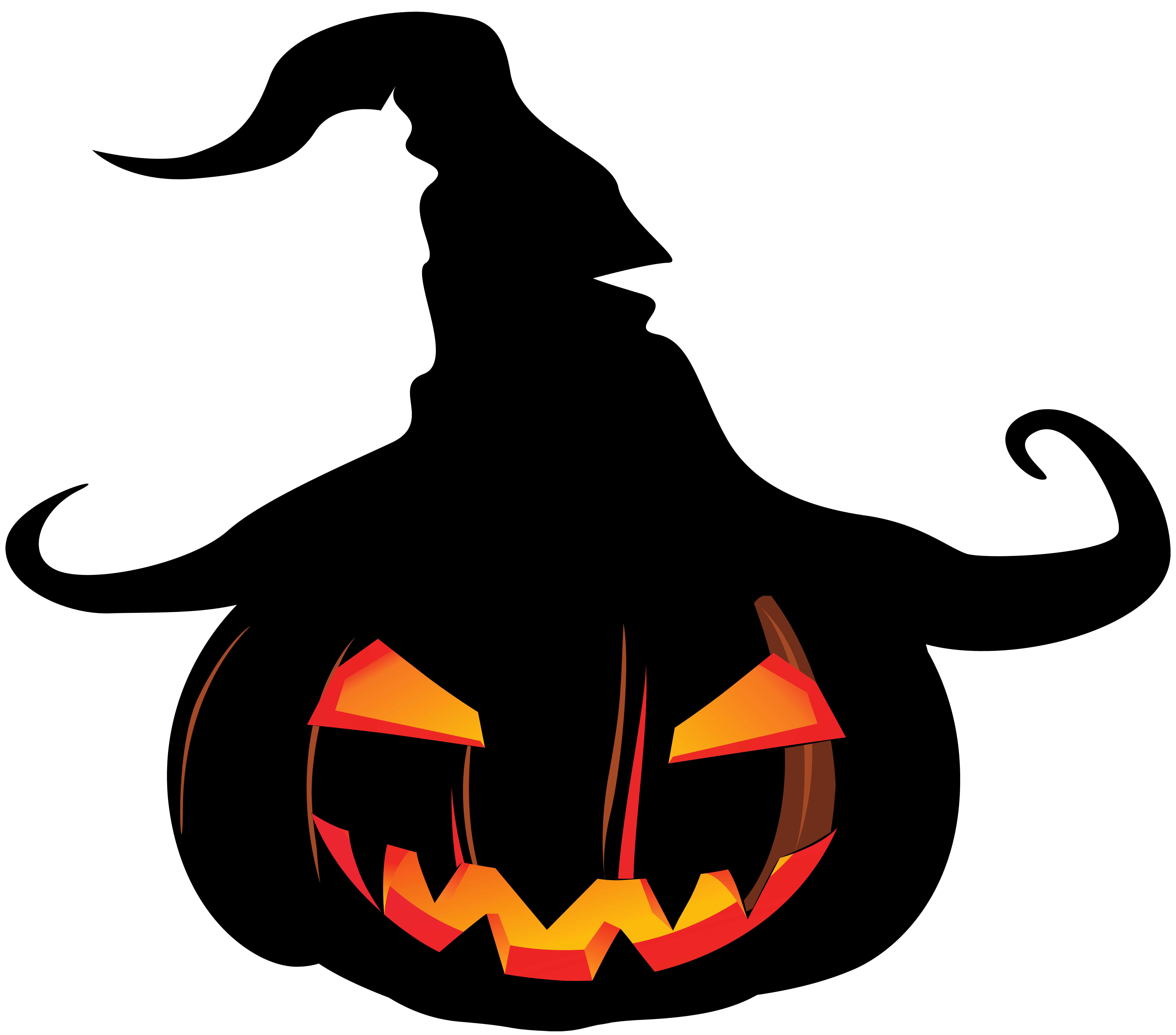 Scary pumpkin png. With witch hat gallery