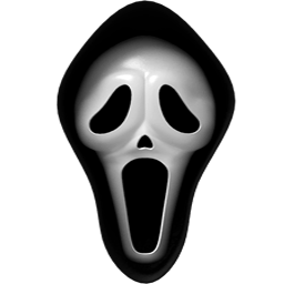 Scary transparent. Movie mask png stickpng