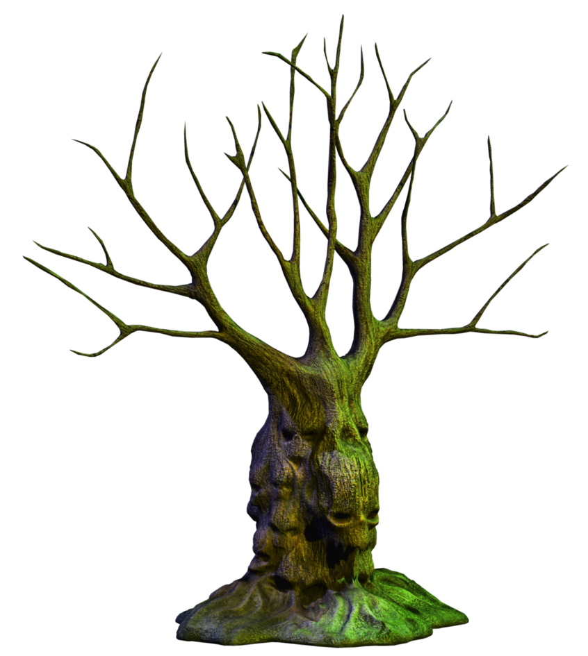 Spooky tree png. Stock by roy d