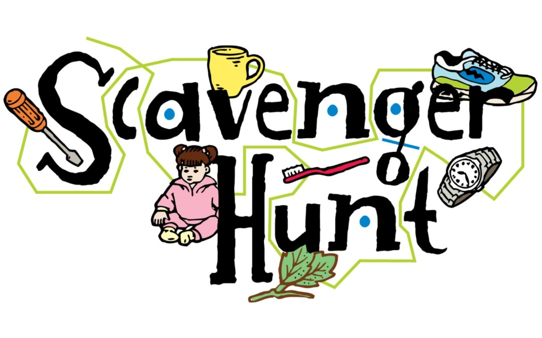 Scavenger hunt clipart. Hs youth oct pm