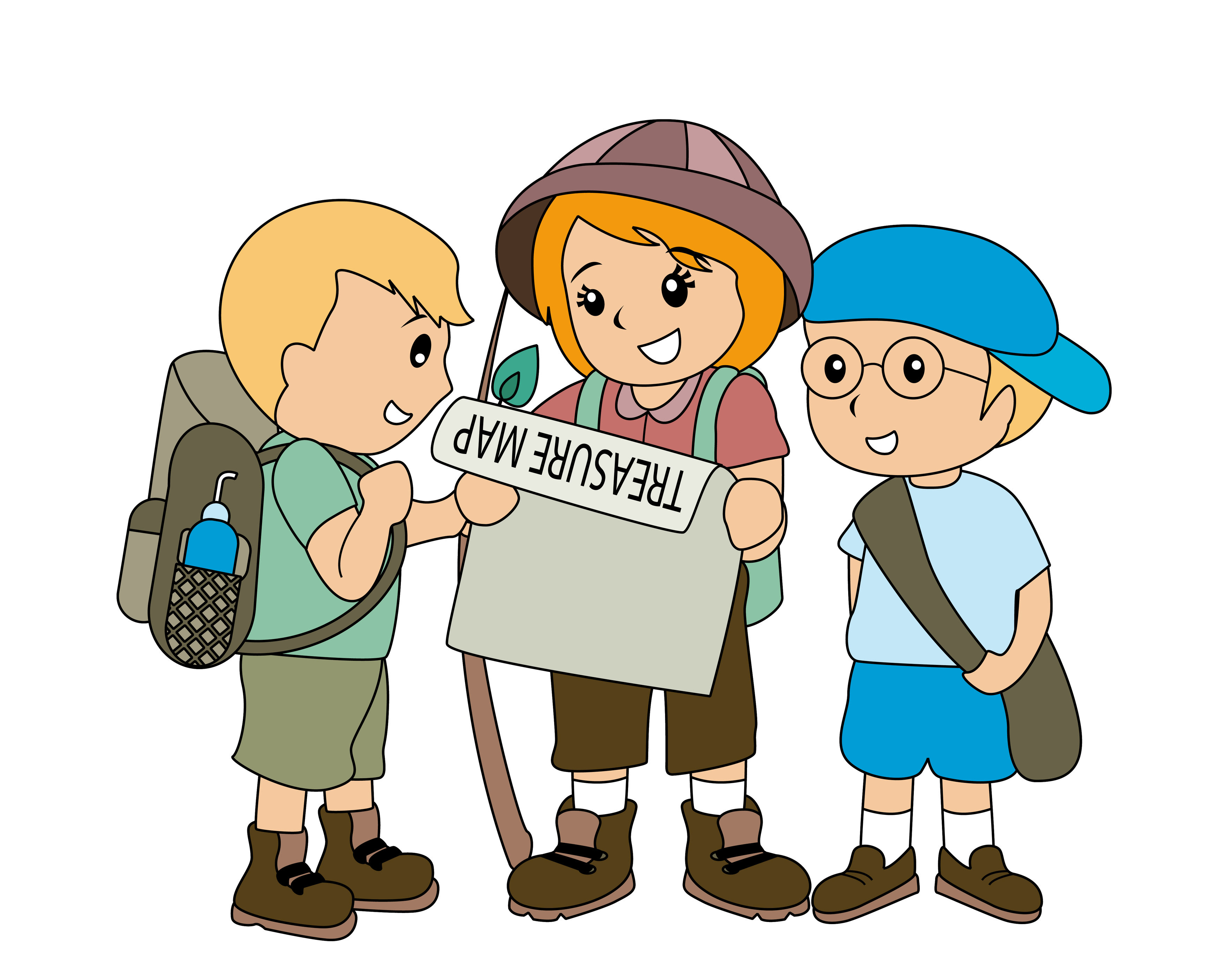 Scavenger hunt clipart childrens. February woolacombe mortehoe voice