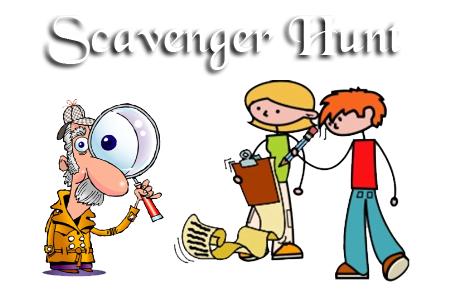 Scavenger hunt clipart library. Woodloch the edge png