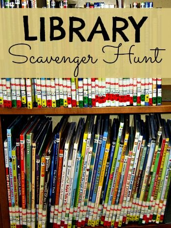 scavenger hunt clipart library