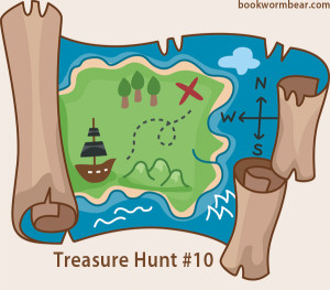 Scavenger hunt clipart life map. Learn to read treasure