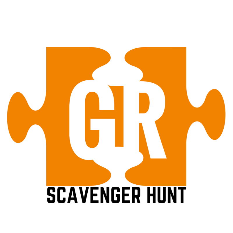 Scavenger hunt clipart trail map. Go hunts attractions in