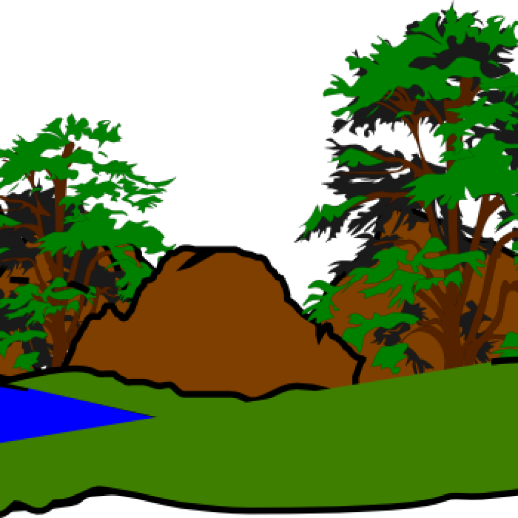 Forrest drawing forest landscape. Cliparts free clipart download