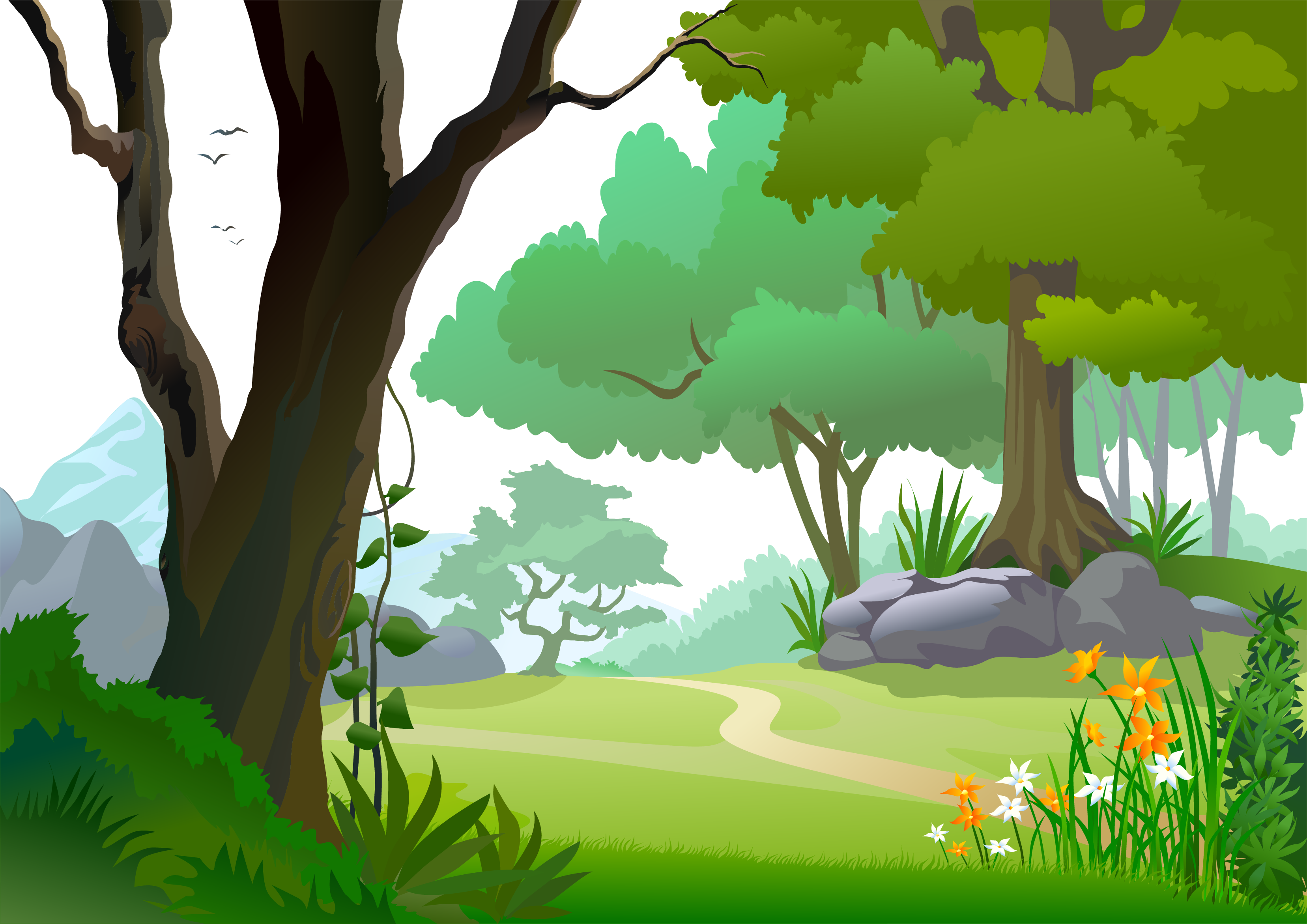 Zoo clipart scenery. Cliparts for free