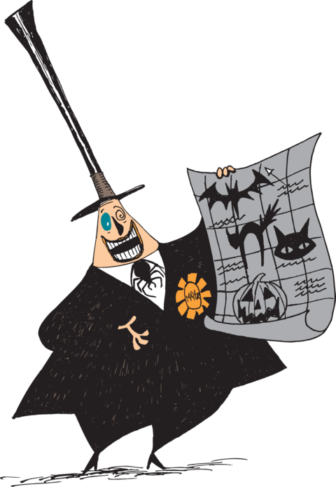 13 Scene Drawing Nightmare Before Christmas For Free Download On Ya