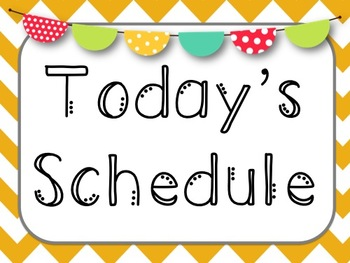 Schedule clipart 2nd grade. Daily nd