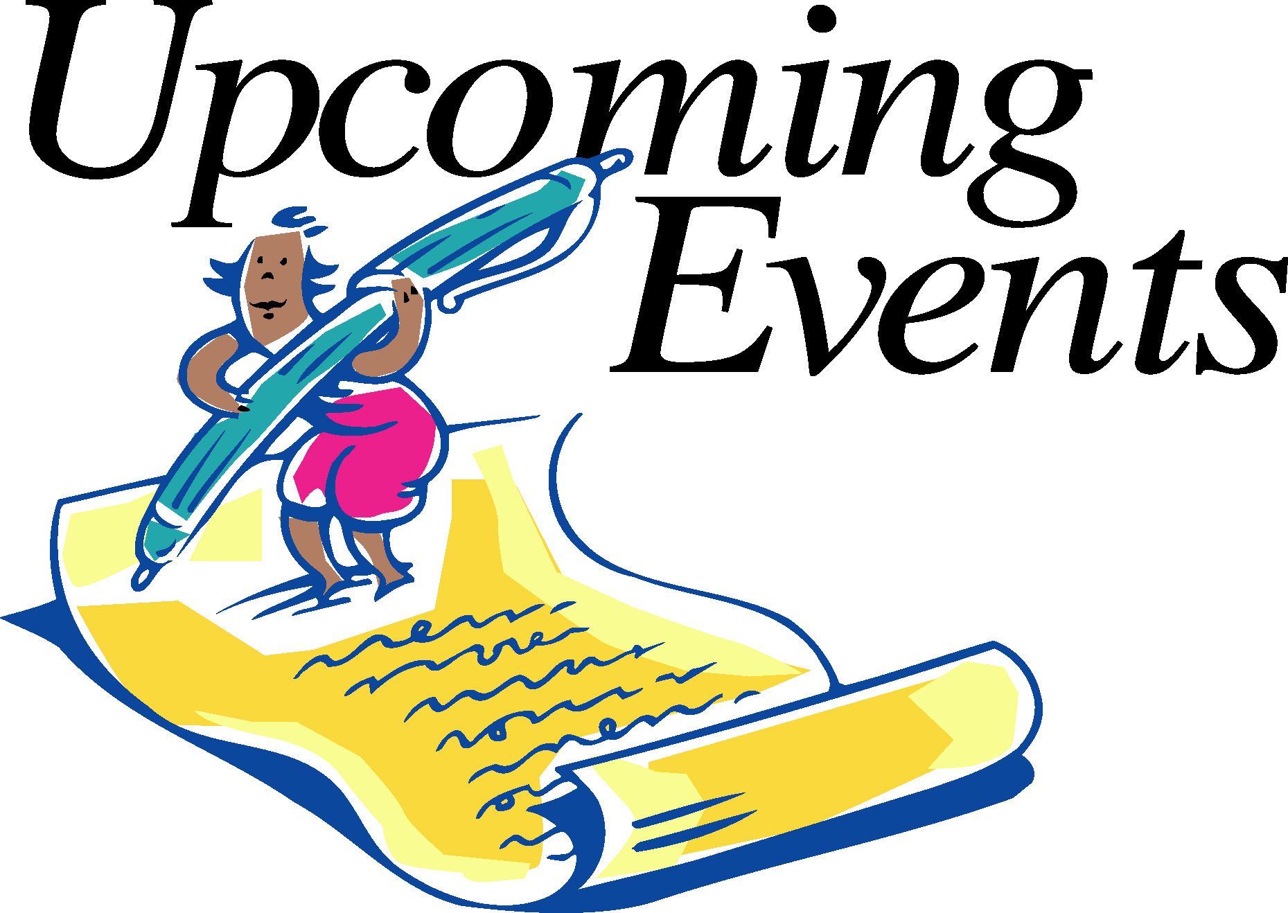 Announcement clipart church. Free events cliparts download