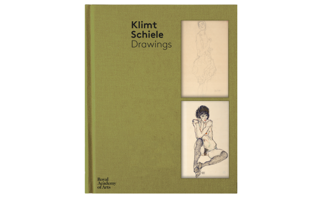 Klimt exhibition royal academy. Schiele drawing sister image royalty free library