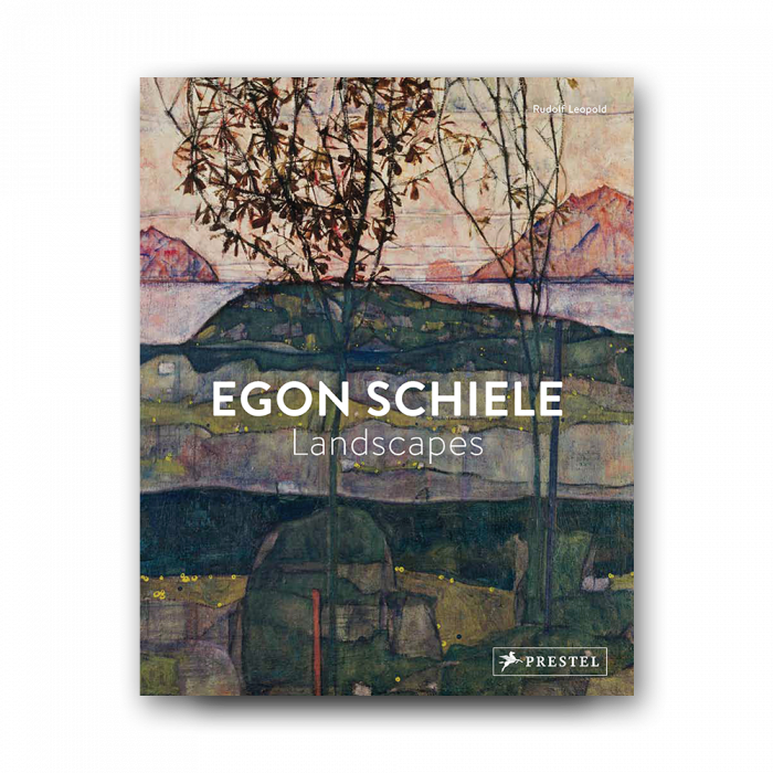 Egon landscapes . Schiele drawing vector library