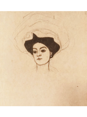 Schiele drawing sketch. The eros in egon