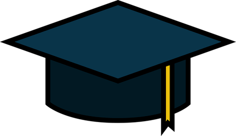 Scholarships drawing cap. For international students in