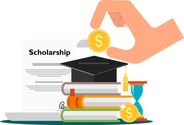 Scholarship clipart credentials. Which exams in india
