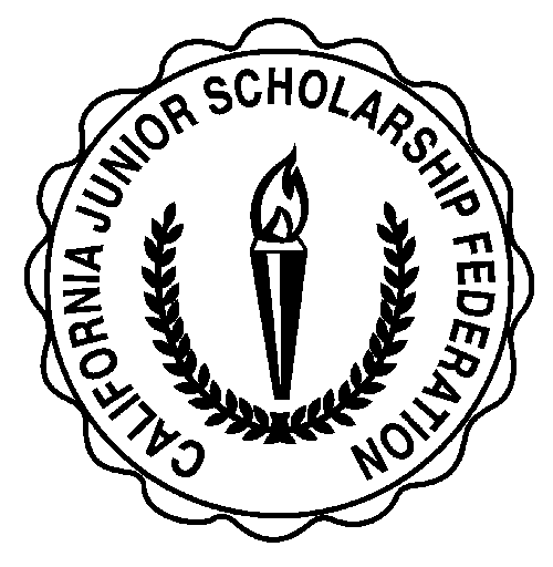 Scholarship drawing. California junior federation springs