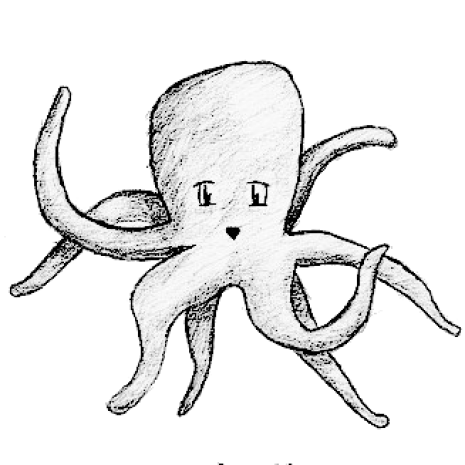 Wisdom begins in wonder. Scholarships drawing octopus svg freeuse download