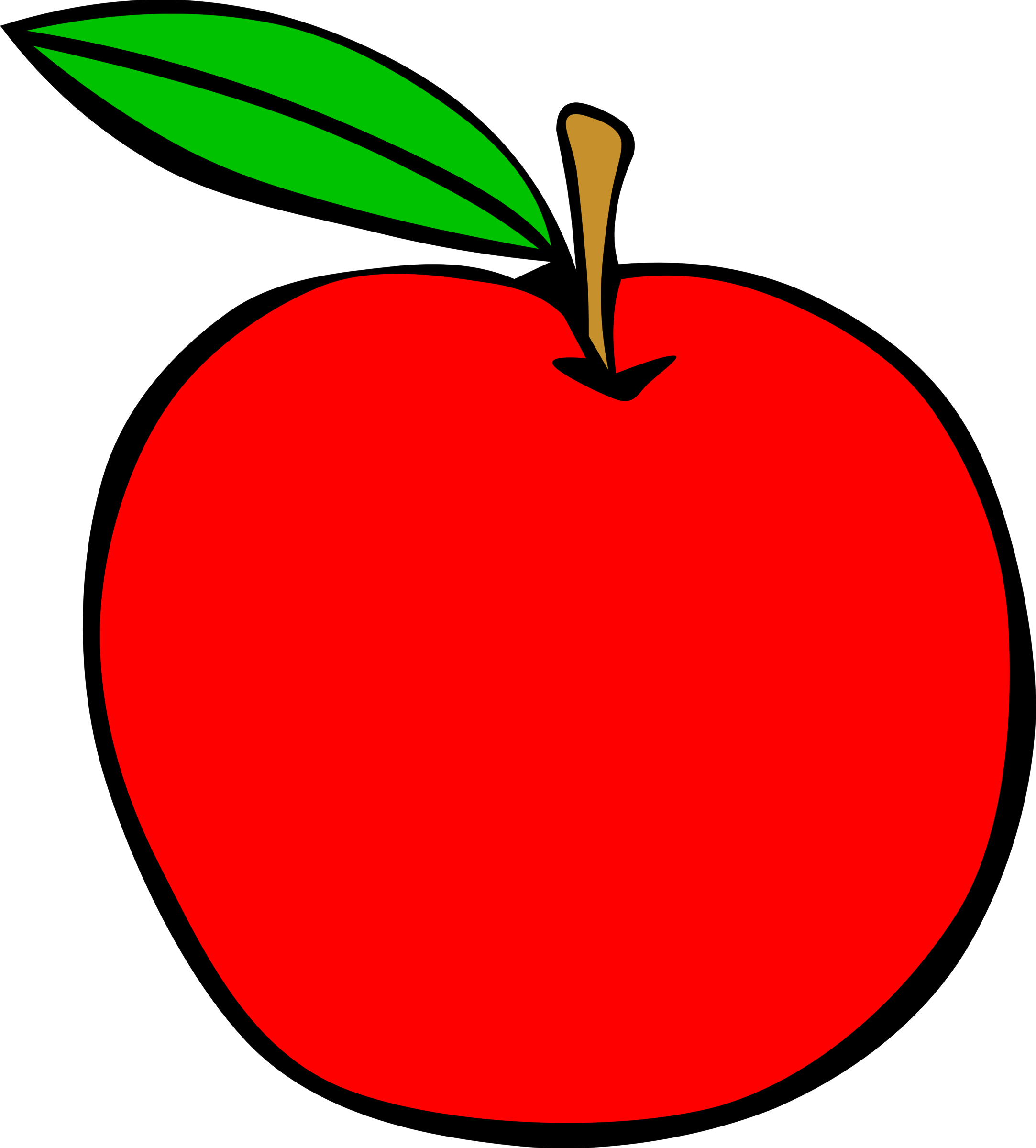 School apple png. Simple fruit icons free
