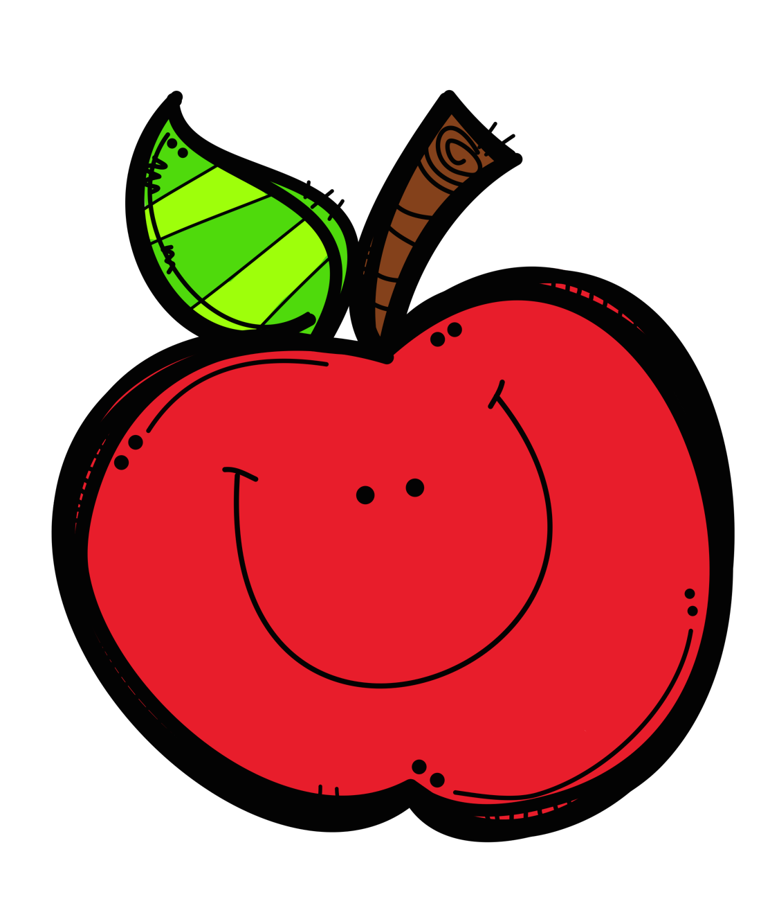 School apples png. The first grade bloom