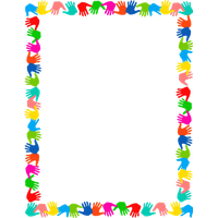School border png. Add a frame to