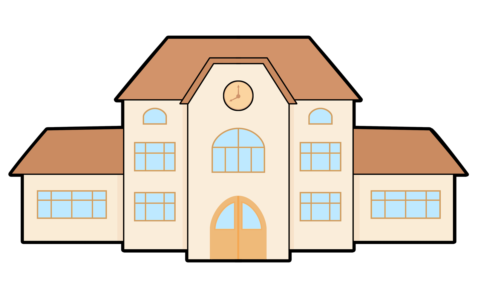 cartoon buildings png