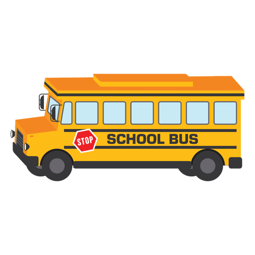 File vector bus. School illustration transparent png